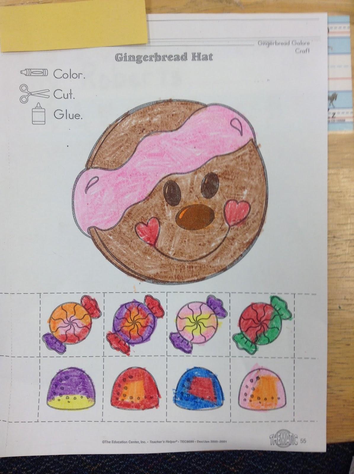 Dr Clements Kindergarten Gingerbread Man Activities