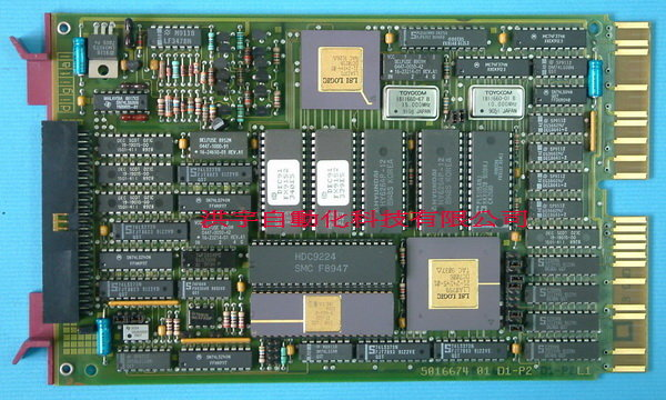 FISHER ROSEMOUNT PROVOX DIGITAL 5016674 01 D1-P2 Disk Controller DC6460X1-UA1 / 10B7247X012