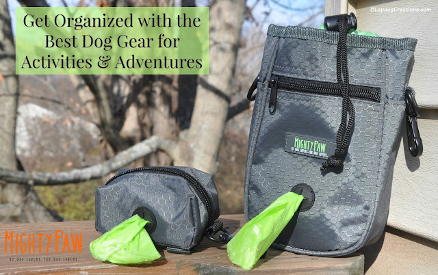 mighty paw dog treat pouch and poop bag holder
