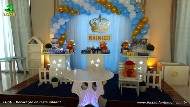Decoração temática festa Chá de Bebê(Chá de fraldas) ou para festa de aniversário de 1 aninho - Barra da Tijuca - RJ