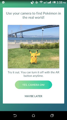 Pokemon GO APK on Android Phone with Tutorials Screenshots
