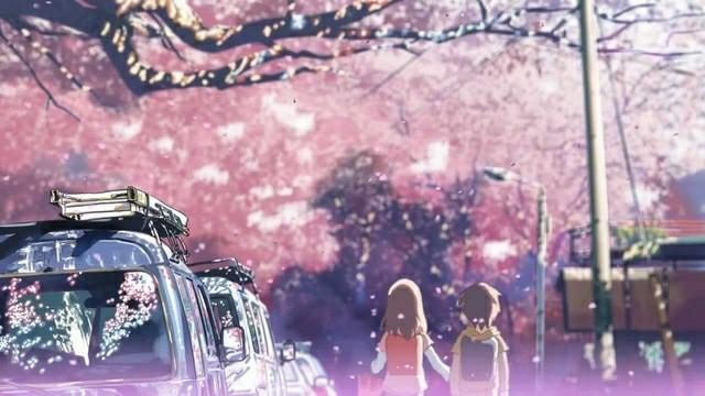 Byousoku 5 Centimeter Cherry Blossom