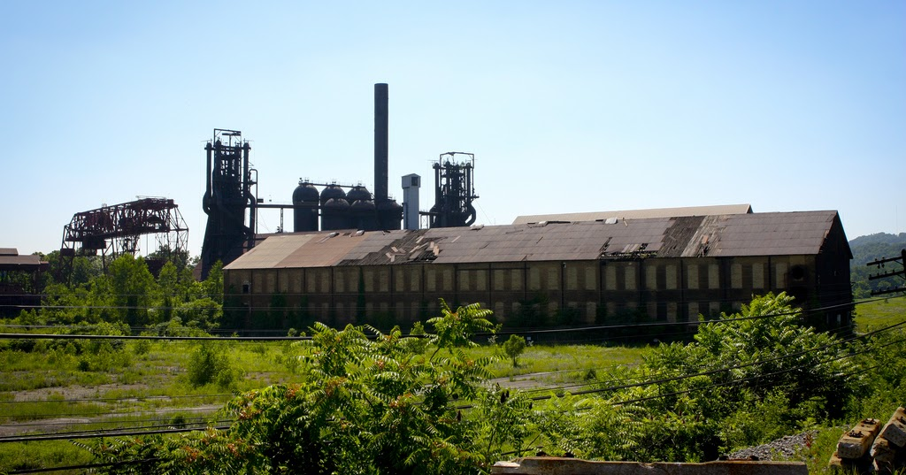 Deserted Places: The Carrie Furnace in Pennsylvania