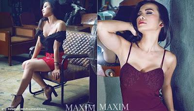 Maria Vania Majalah Maxim Dewasa