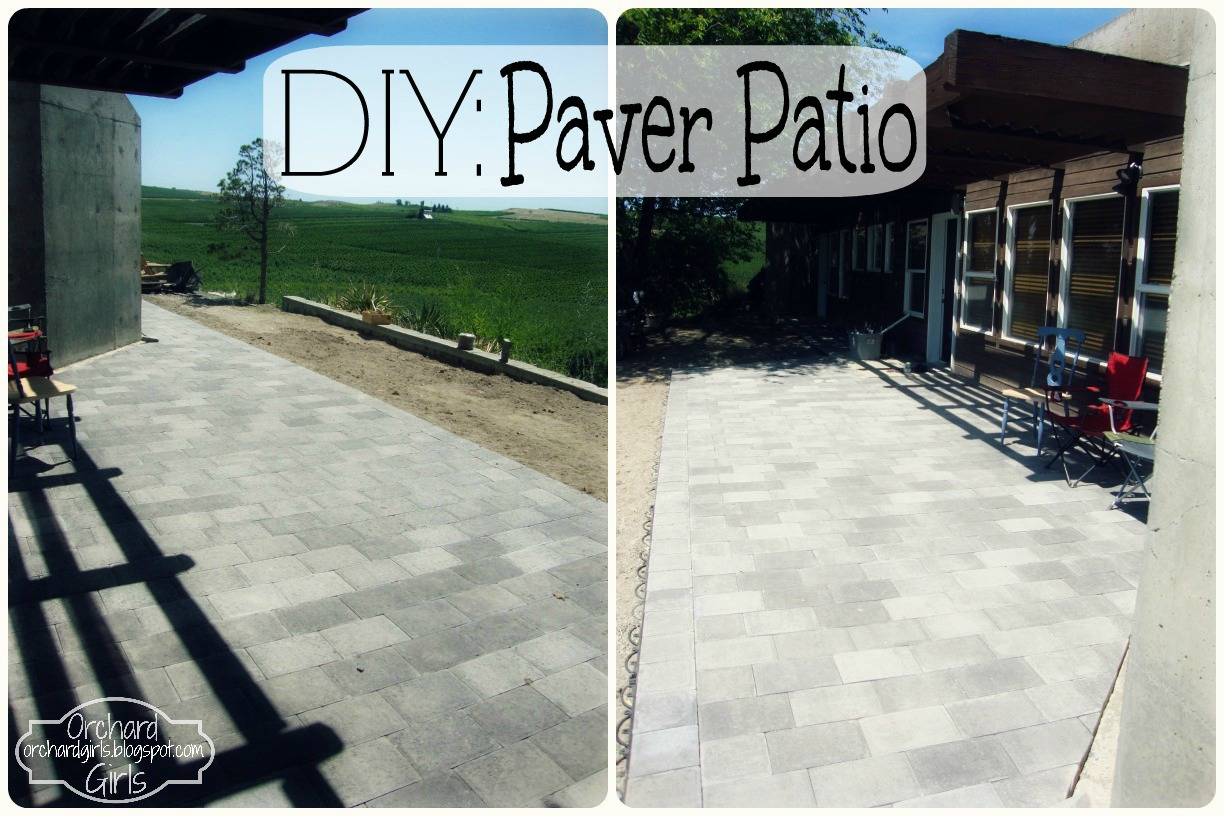 DIY Paver Patio