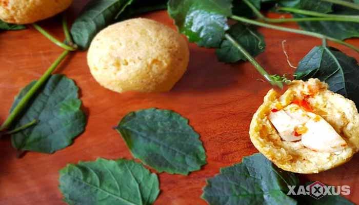 Resep cara membuat tahu bulat isi bakso mercon