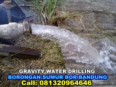 brorongan sumur bor bandung harga terbaik gravity water drilling