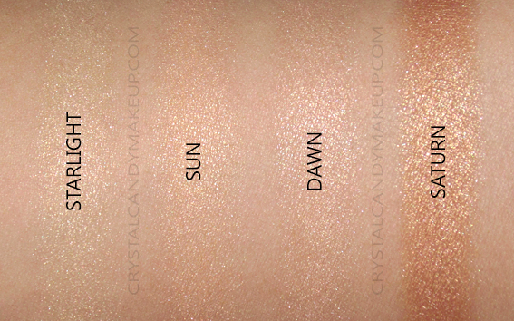 L'Oreal True Match Lumi Nude Palette Swatch 750 Sunkissed