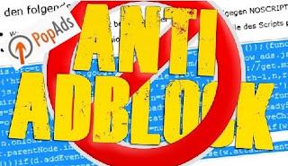 PopAds Anti Adblock