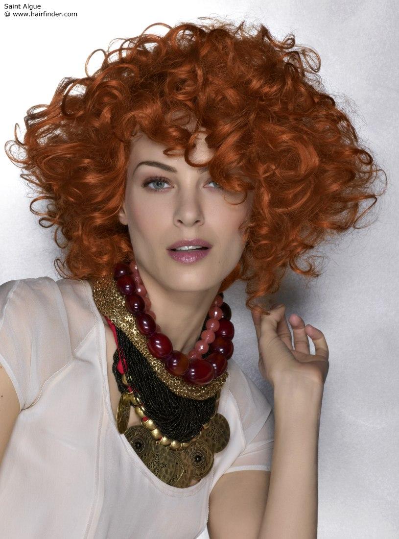 Hair Ink Short Red Hair