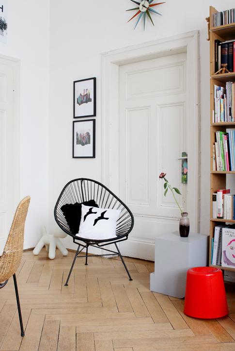 philuko von der wand aufs kissen. Black Bedroom Furniture Sets. Home Design Ideas