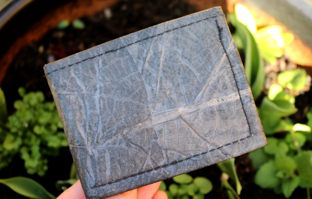 Zessoo Leaf Leather Wallet review