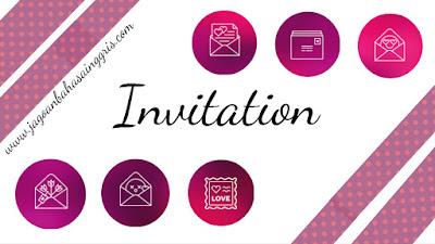 Materi dan Soal Bahasa Inggris Expression to Invite Others Kelas 8 SMP