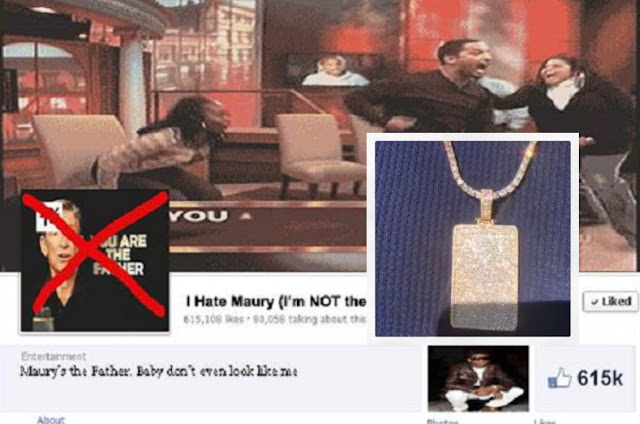 Man Raised $350K for Child Support On Facebook Then Buys Diamond Necklace and Disappears