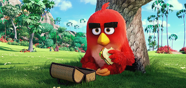Nervosul Red (Jason Sudeikis) The Angry Birds (2016)