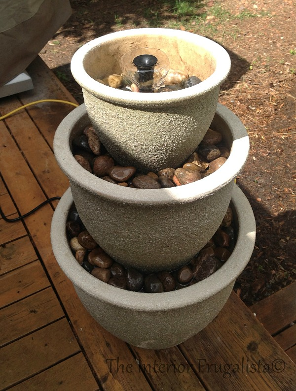 Step 9 How To Turn Plant Pots Into Water Fountain