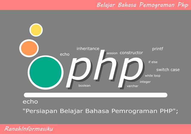 Belajar PHP : Persiapan Belajar Bahasa Pemrograman PHP