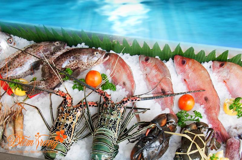 Hạn chế ăn các loại hải sản, đồ tanh