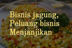 Peluang usaha bisnis jagung, bisnis makanan yang menjanjikan sampai saat ini