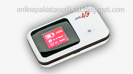 Zong Launches Fiber Home  4G MBB Device