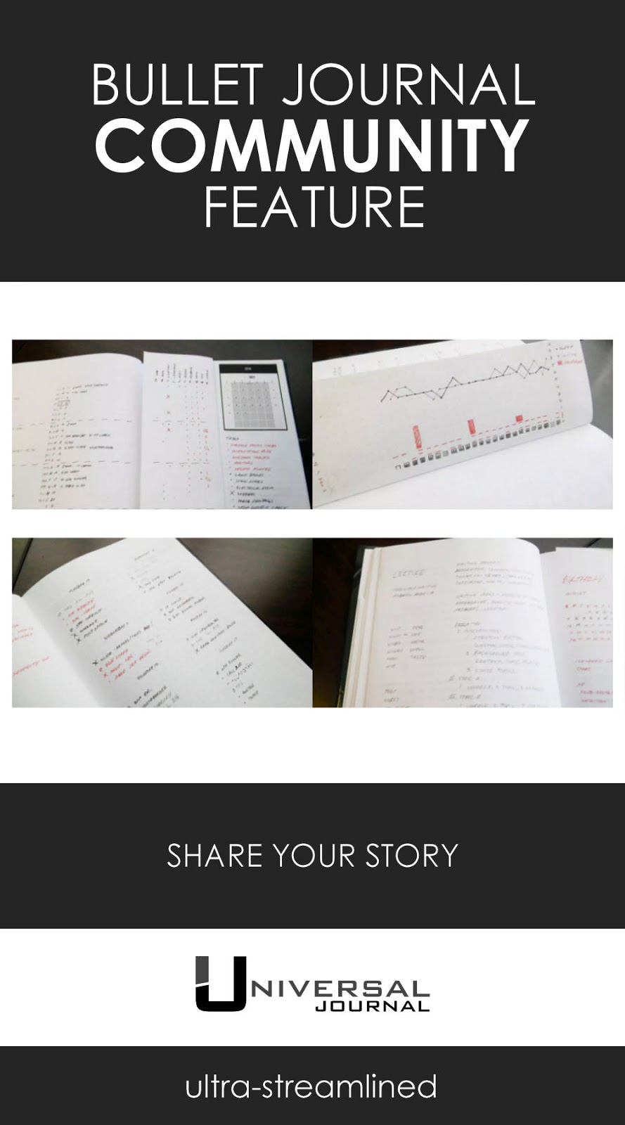 bullet journal community feature share