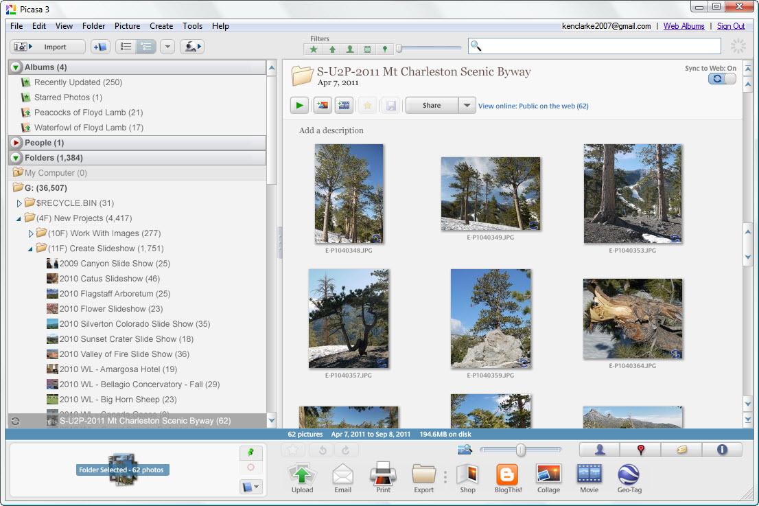 Ken's Photo Gallery: Software