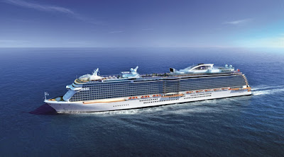 Princess Cruises 2020 New Build Fincantieri, Italy