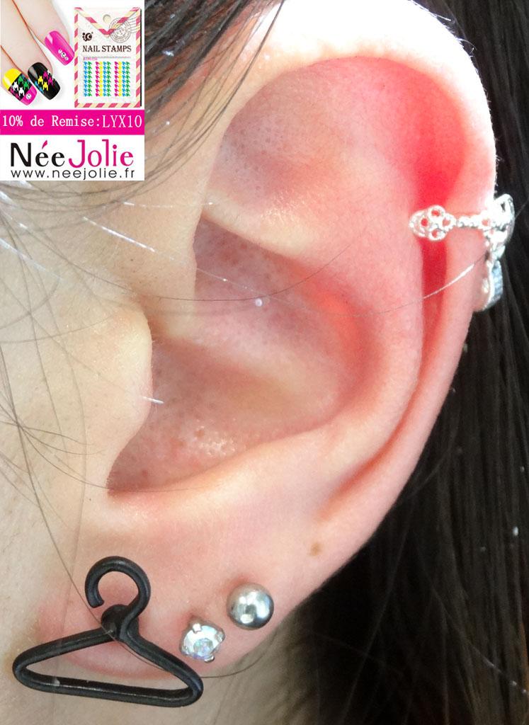 Claire's boucles d'oreilles london