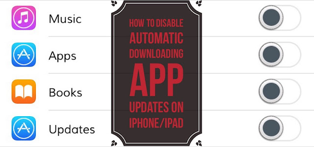Here's a simple steps on How to disable automatic app updates and downloads on iPhone/iPad running iOS 10.3.2/10.3.1 or below.