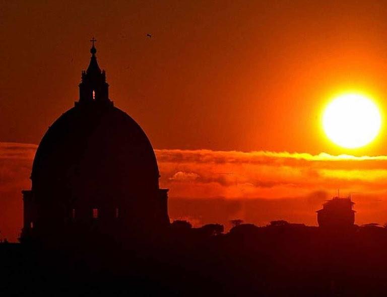 Crepúsculo em Roma