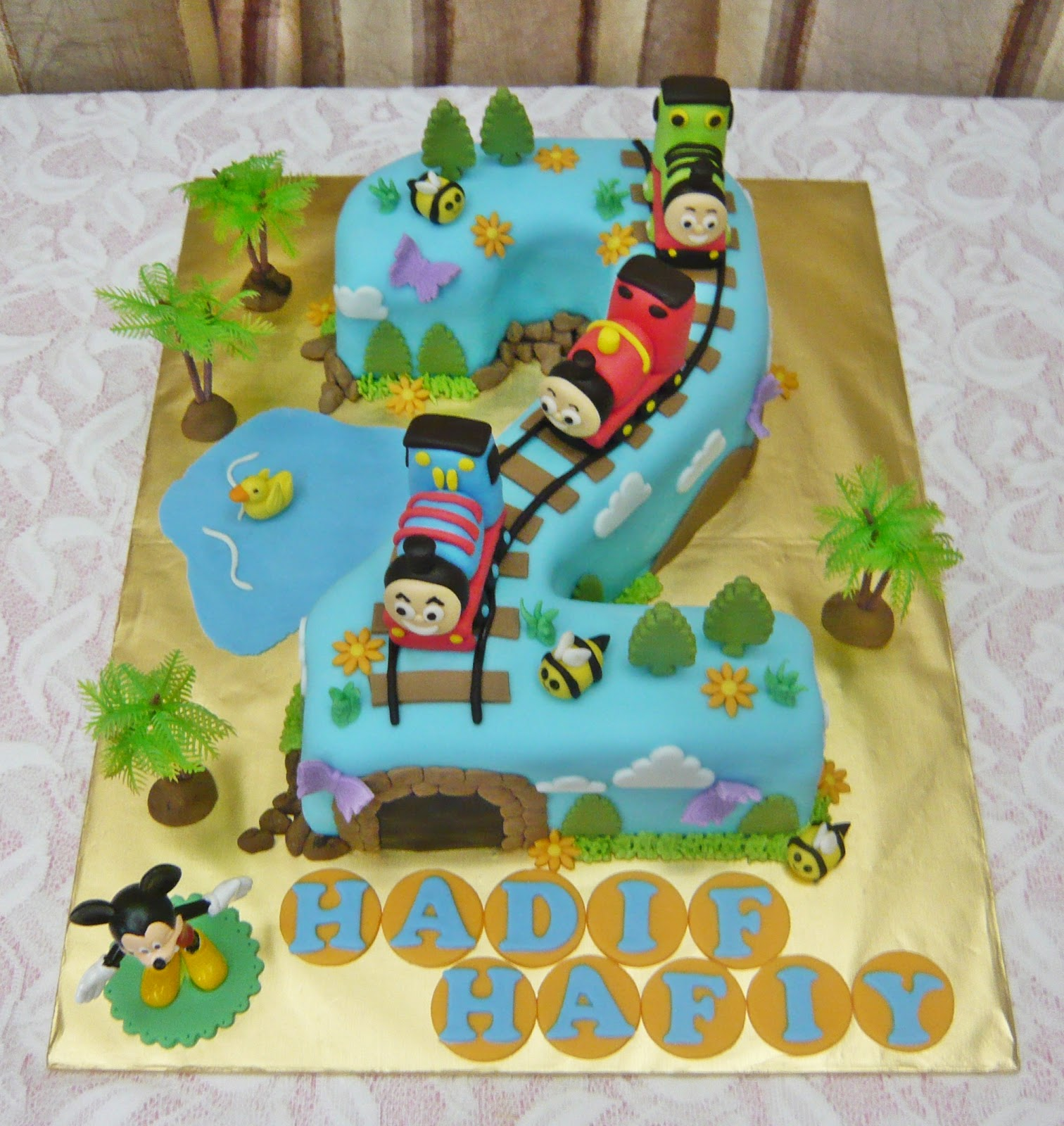 Thomas And Friends Cake Topper Singapore