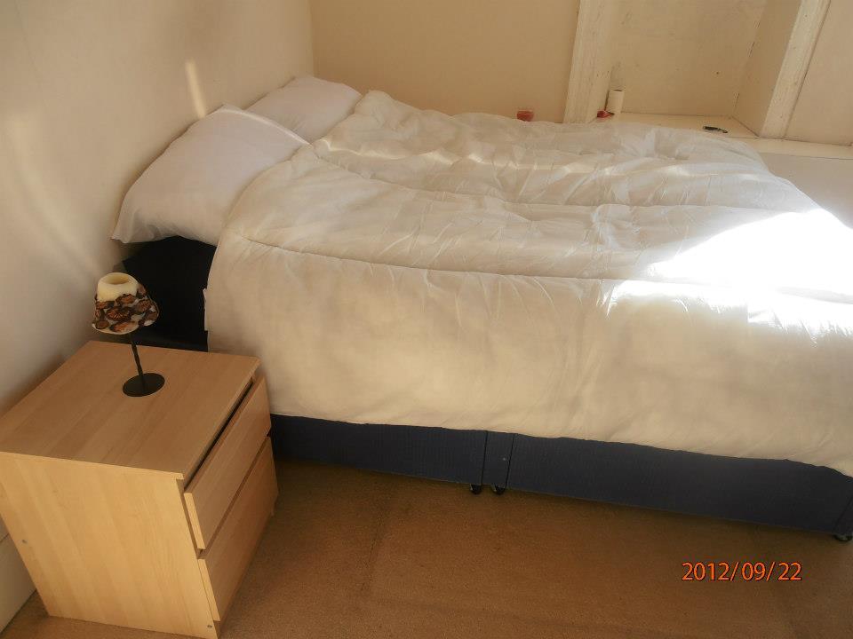 Glasgow-i lakás hálószoba