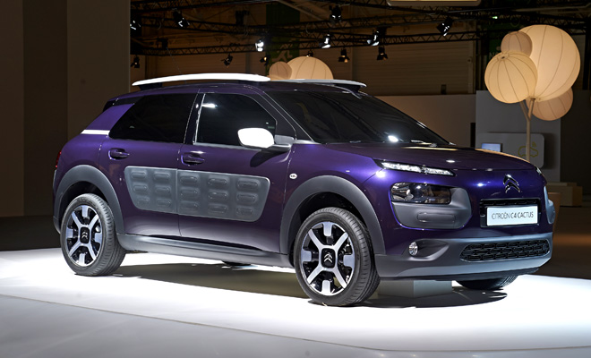 2014 Citroen C4 Cactus front side view