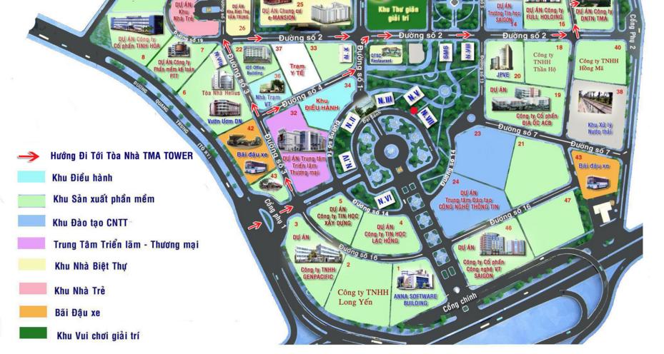 Công viên phần mềm Quang Trung không cho du khách vào thăm