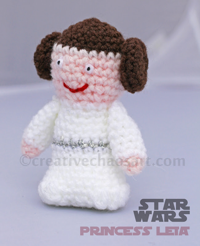 First Toy Amigurumi Toy Princess Leia Security Blanket Crochet Pattern | 800x650