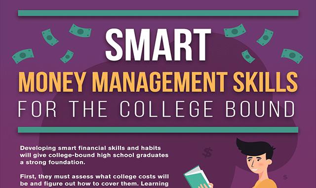 Smart Money Management Skills for College-Bound High Schoolers