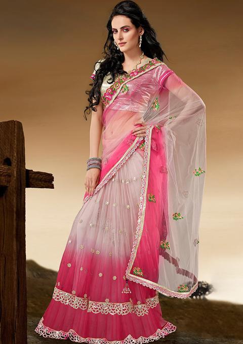 foto baju sari india terbaru