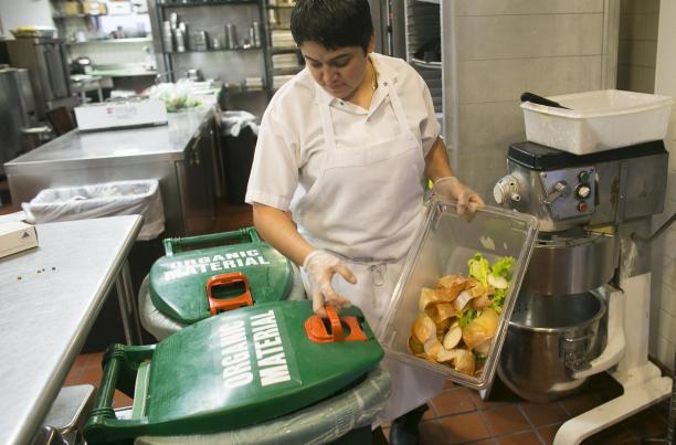 supermarket food waste and hotel waste food
