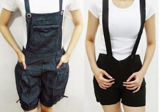Celana Kodok Pendek Model Jeans