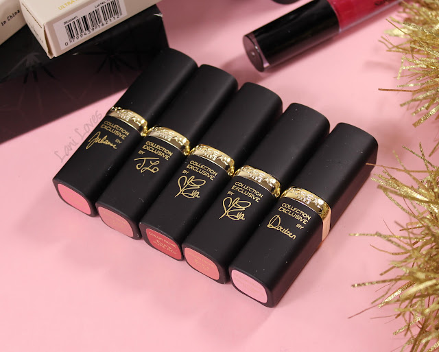 L'Oreal Color Riche lipsticks review