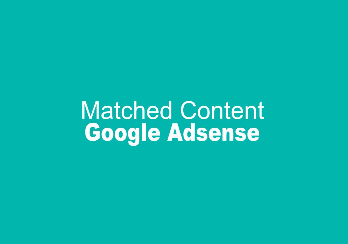 Cara Memasang Unit Iklan Matched Contant Pada Blog AMP