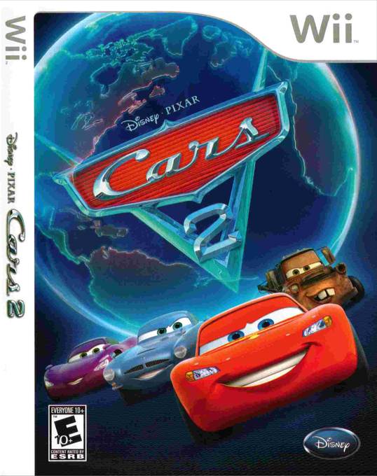 Untitled - [Wii/WBFS] Cars 2 [SCYE4Q] Download