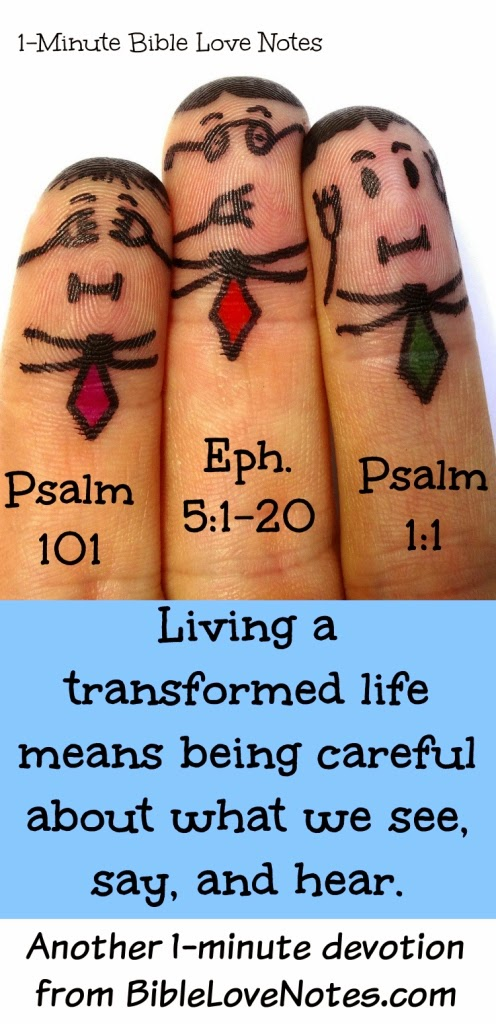 see no evil, hear not evil, speak no evil, God's Word transforms lives, guard your heart