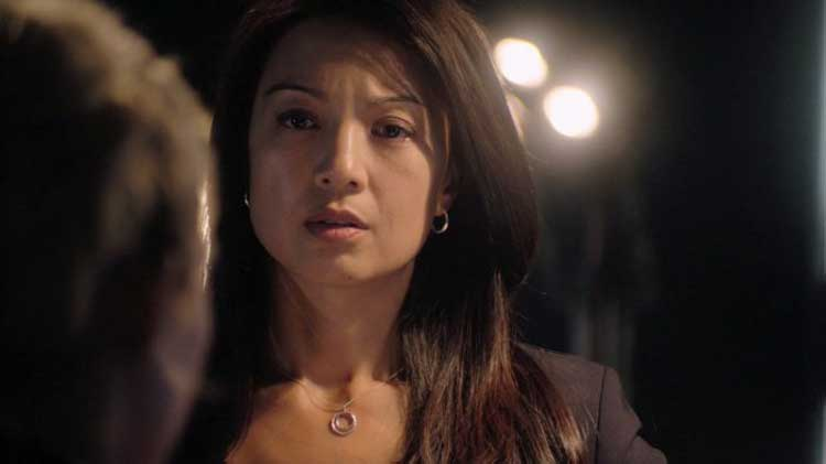 "Ming-Na Wen as Camille Wray in SGU's ""Justice"""
