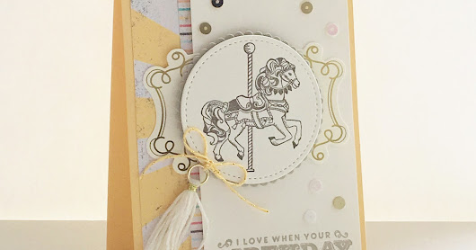 Stampin' Up!® Cupcakes and carousels deel 3