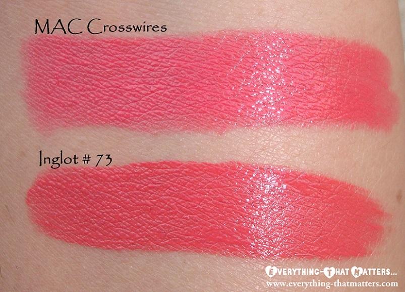 MAC+Crosswires+Dupe+Inglot+Lipstick+Refill73