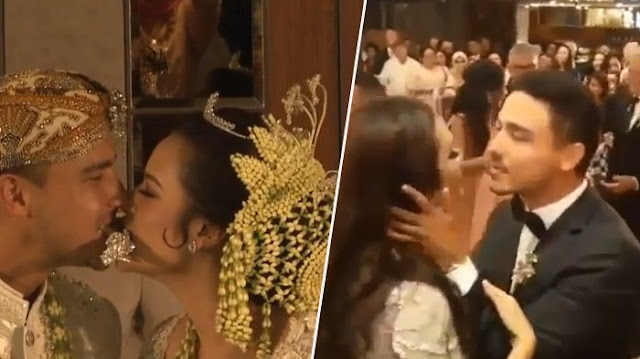 Raisa dan Hamish Berciuman Mesra Bikin Netizen Makin Patah Hati