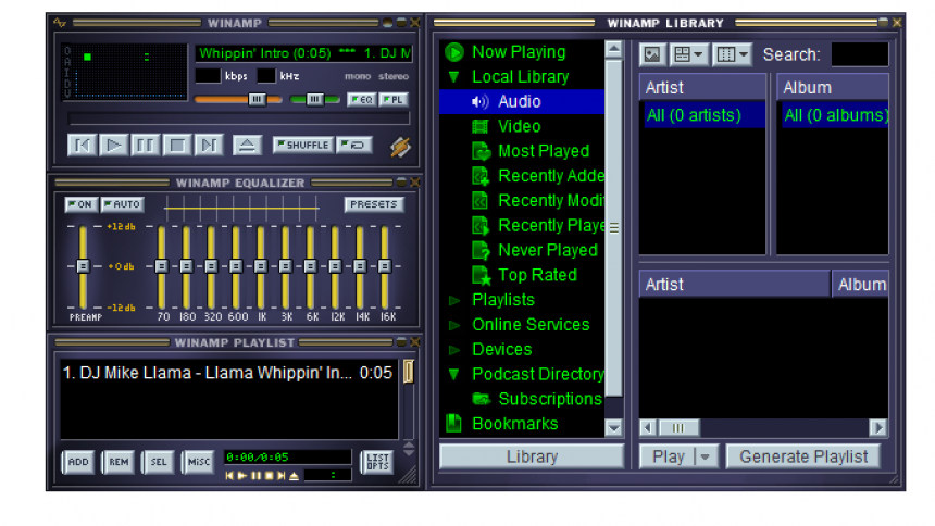 winamp free download full latest version