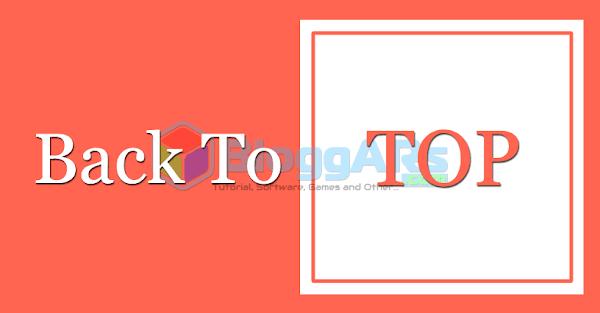 Cara Membuat Tombol Back To Top di Blog Dengan Mudah