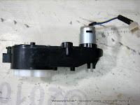 Gearbox Bintang 6 dengan Dinamo Motor DC6 Volt - Motor Mainan Aki
